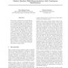 Markov Random Walk Representations with Continuous Distributions