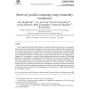 Massively parallel computing using commodity components