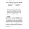 Matching disparate views of planar surfaces using projective invariants