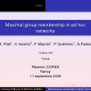Maximal Group Membership in Ad Hoc Networks