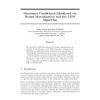 Maximum Conditional Likelihood via Bound Maximization and the CEM Algorithm