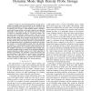 Maximum-Likelihood Sequence Detector for Dynamic Mode High Density Probe Storage