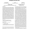 MCDB: a monte carlo approach to managing uncertain data