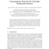 Measurement-based Analysis of Power Consumption Patterns for Portable Multimedia Players