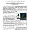 Measurement of force vector field of robotic finger using vision-based haptic sensor