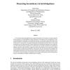 Measuring inconsistency in knowledgebases