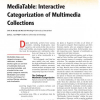 MediaTable: Interactive Categorization of Multimedia Collections