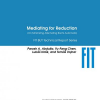 Mediating for Reduction (on Minimizing Alternating Büchi Automata)
