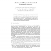 Meeting Modelling in the Context of Multimodal Research