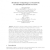 Membrane Computing as a Framework for Modeling Economic Processes