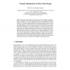 Memetic Optimization of Video Chain Designs