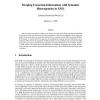 Merging uncertain information with semantic heterogeneity in XML