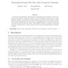 Minimizing average flow-time under knapsack constraint