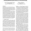 Minimizing Minimality and Maximizing Utility: Analyzing Method-based attacks on Anonymized Data