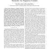 Minimizing transmission energy in sensor networks via trajectory control