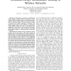 Minimum energy accumulative routing in wireless networks