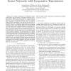 Minimum Energy Data Gathering in Correlated Sensor Networks with Cooperative Transmission