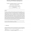 Minimum Spanning Tree Based Clustering Algorithms