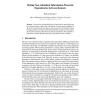 Mining Non-redundant Information-Theoretic Dependencies between Itemsets