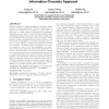 Mining quantitative correlated patterns using an information-theoretic approach