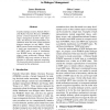 Mixture Model POMDPs for Efficient Handling of Uncertainty in Dialogue Management