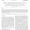 Mixtures of robust probabilistic principal component analyzers