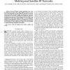 MLSR: a novel routing algorithm for multilayered satellite IP networks