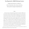 MMSE Based Transceiver Designs in Closed-Loop Non-Regenerative MIMO Relaying Systems