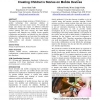 Mobile collaboration: collaboratively reading and creating children's stories on mobile devices