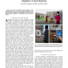 Mobile Phone-Enabled Museum Guidance with Adaptive Classification
