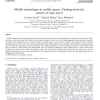 Mobile technologies in mobile spaces: Findings from the context of train travel