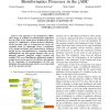 Model-based Design of Distributed Collaborative Bioinformatics Processes in the jABC