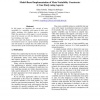 Model-Based Implementation of Meta-Variability Constructs: A Case Study using Aspects