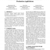 Model Based Software Development Process For Production Applications