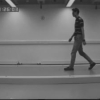 Model-driven statistical analysis of human gait motion