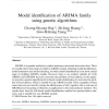 Model identification of ARIMA family using genetic algorithms