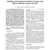 Modeling and Evaluation of Software Systems with Object Stochastic Activity Networks