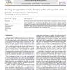 Modeling and segmentation of audio descriptor profiles with segmental models