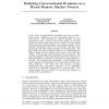 Modeling Conversational Dynamics as a Mixed-Memory Markov Process
