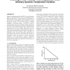Modeling of NBTI-Induced PMOS Degradation under Arbitrary Dynamic Temperature Variation
