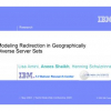 Modeling redirection in geographically diverse server sets