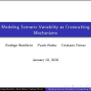 Modeling scenario variability as crosscutting mechanisms