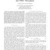 Modeling the Effect of Mobile Handoffs on TCP and TFRC Throughput