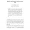 Modelling Tacit Knowledge via Questionnaire Data