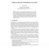 Models of Culture for Virtual Human Conversation
