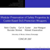Modular Preservation of Safety Properties by Cookie-Based DoS-Protection Wrappers