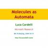 Molecules as Automata