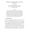 Monadic second-order logic on tree-like structures