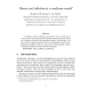 Money and inflation in a nonlinear model