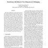 Monitoring with Behavior View Diagrams for Debugging